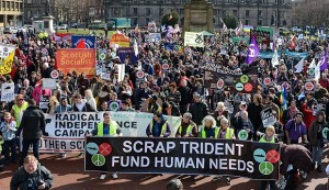 8 George Square Demo