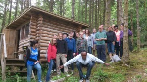 NVA Workshop visits Peaton Glen Woods. Photo Credit: Brian Larkin
