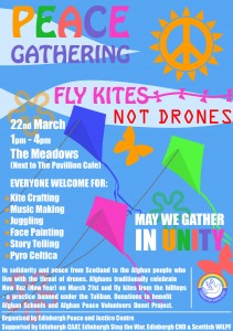 Fly Kites not Drones - 4th March Update