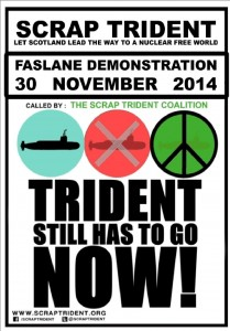 Trident-still-has-to-go-NOW flyer front