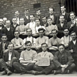 COs in Wakefield Prison First World War.  Photo: Photograph: Imperial War Museum