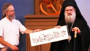 archbishop-atallah with eurig in edinburgh