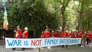 war is not family entertainment