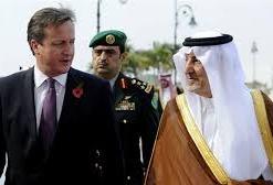 cameron and Saudi prince