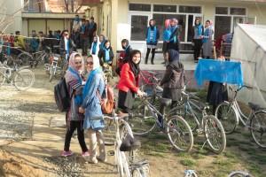 Gender free bike ride kabul